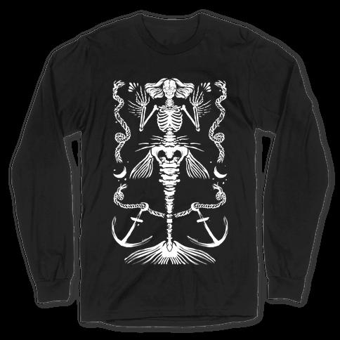 Dead Mermaid Long Sleeve T-Shirt