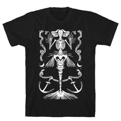 Dead Mermaid Mens T-Shirt