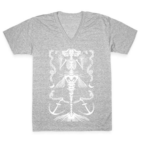 Dead Mermaid V-Neck Tee Shirt