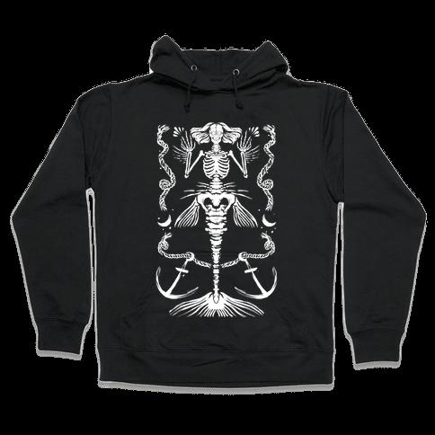 Dead Mermaid Hooded Sweatshirt