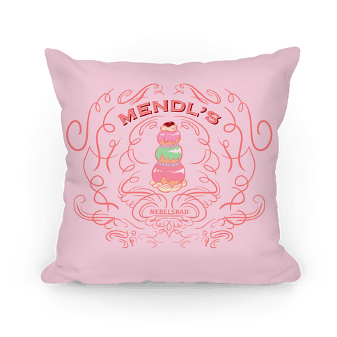 Mendl's Bakery Pillow