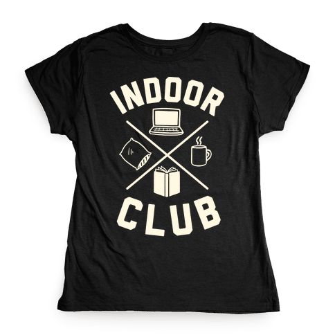 Indoor Club Womens T-Shirt