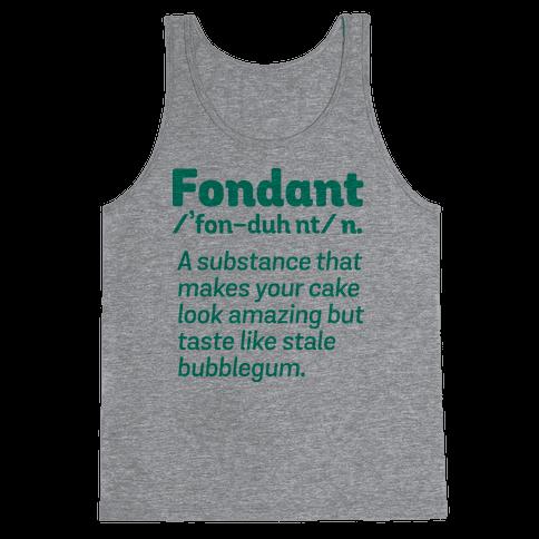 Fondant Definition Tank Top