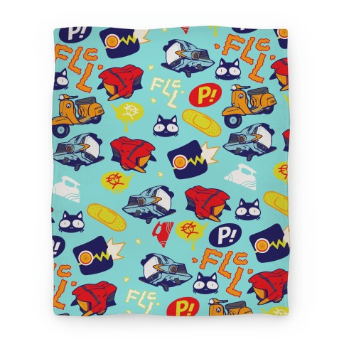 FLCL Anime Pattern Blanket