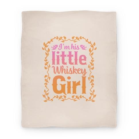 Little Whiskey Girl Blanket