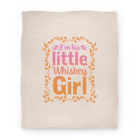 Little Whiskey Girl Blanket