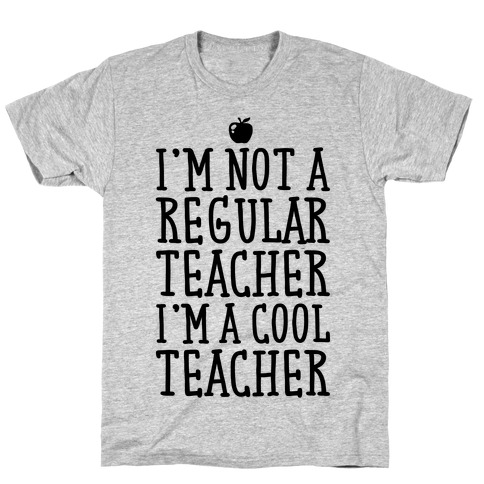 Cool Teacher Mens T-Shirt