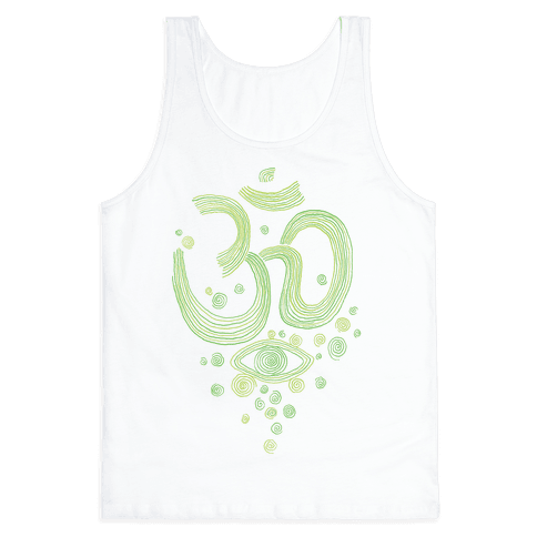 Om And Eye Tank Top