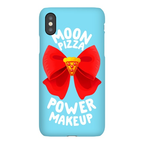 Moon Pizza Power Makeup! Phone Case