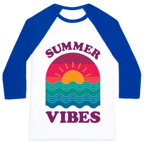Summer Vibes Baseball Tee
