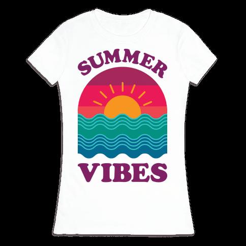 Summer Vibes Womens T-Shirt