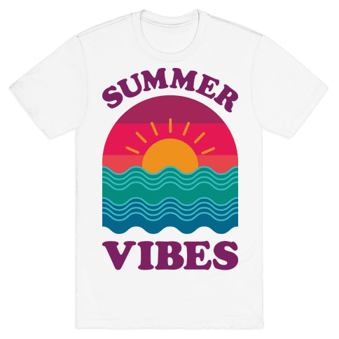 Summer Vibes Mens T-Shirt