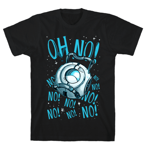 Oh No! (Wheatley) Mens T-Shirt