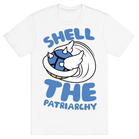 Blue Shell The Patriarchy T-Shirt