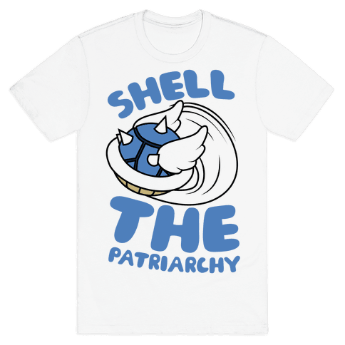 Blue Shell The Patriarchy Mens T-Shirt