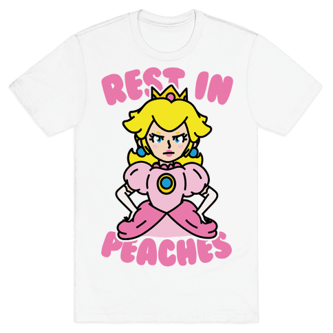 Rest In Peaches Mens T-Shirt