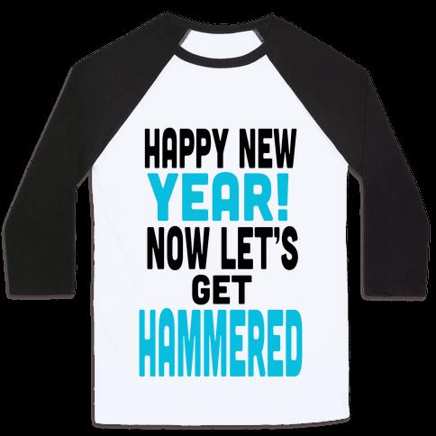 Happy New Year! (Tank) Baseball Tee
