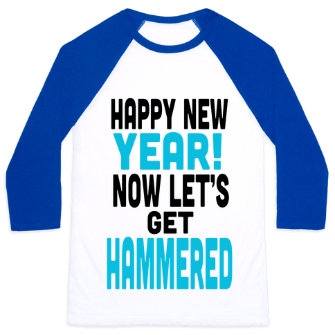 Happy New Year! (Tank) Baseball Tee