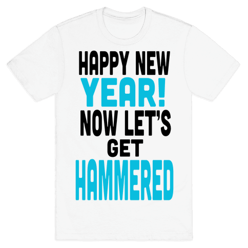 Happy New Year! (Tank) Mens T-Shirt