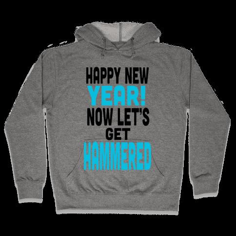 Happy New Year! (Tank) Hooded Sweatshirt