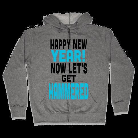 Happy New Year! (Tank) Zip Hoodie