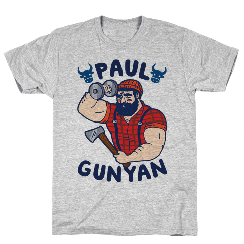 Paul Gunyan Mens T-Shirt