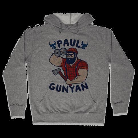 Paul Gunyan Hooded Sweatshirt