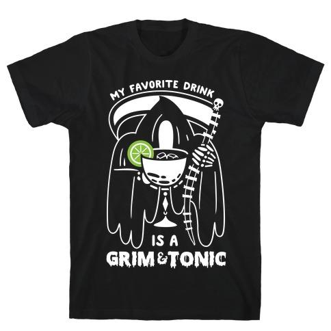Grim & Tonic Mens T-Shirt