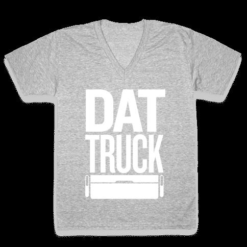Dat Truck V-Neck Tee Shirt