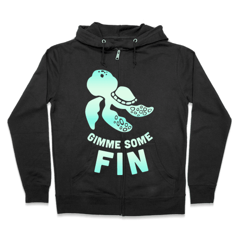 Gimme Some Fin Zip Hoodie
