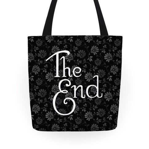 The End (Black) Tote