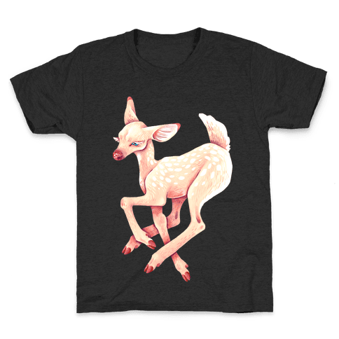 Peaceful Fawn Kids T-Shirt