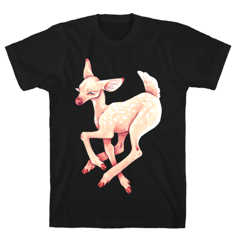 Peaceful Fawn Mens T-Shirt