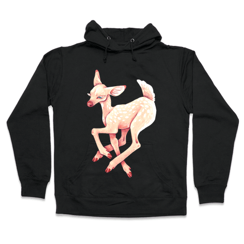 Peaceful Fawn Hooded Sweatshirt