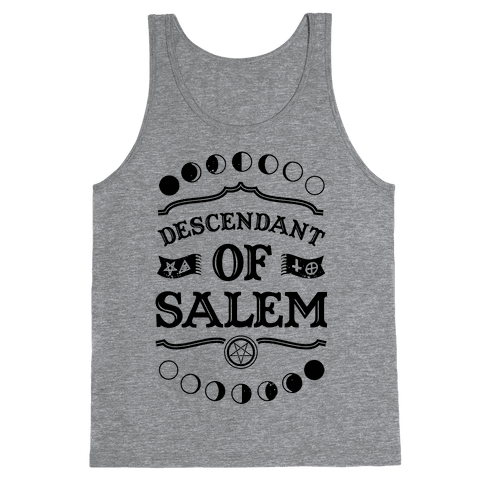 Descendant of Salem Tank Top
