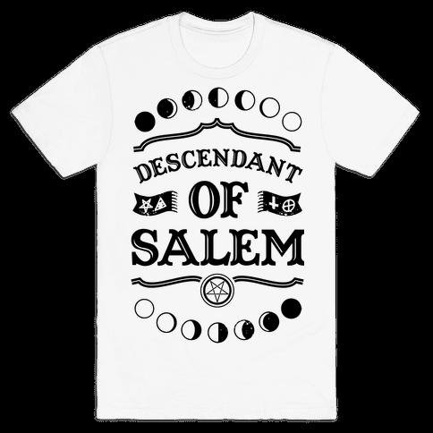 Descendant of Salem Mens T-Shirt