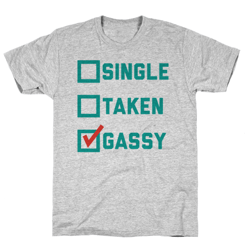 Single Taken Gassy Mens T-Shirt