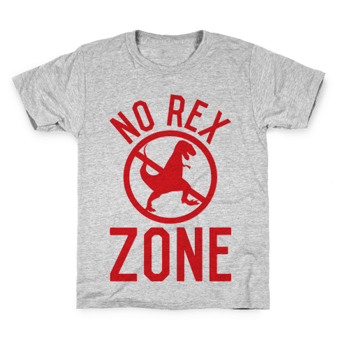 No Rex Zone Kids T-Shirt