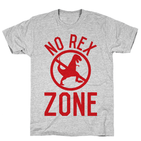 No Rex Zone Mens T-Shirt