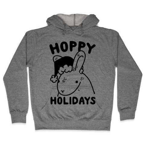 Hoppy Holidays Hooded Sweatshirt