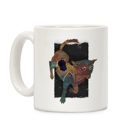 Astronaut Dog Chernushka Coffee Mug