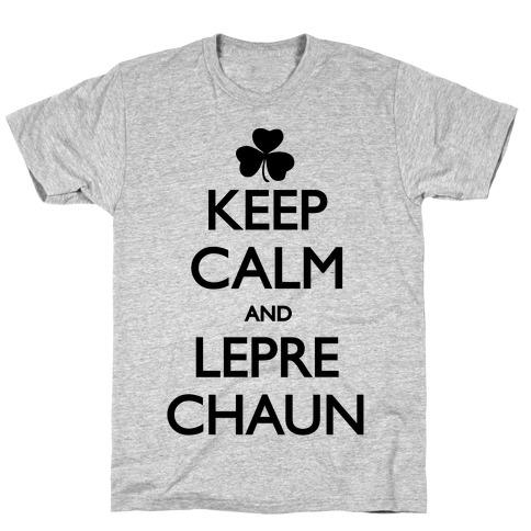 Keep Calm and Leprechaun T-Shirt