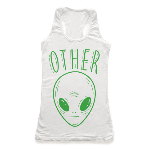 Other Alien Racerback Tank Top