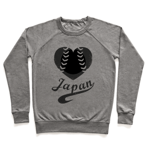 Japan Baseball Love (Baseball Tee) Pullover