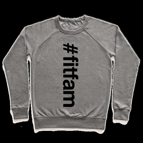 """#fitfam"" Shirt Pullover"