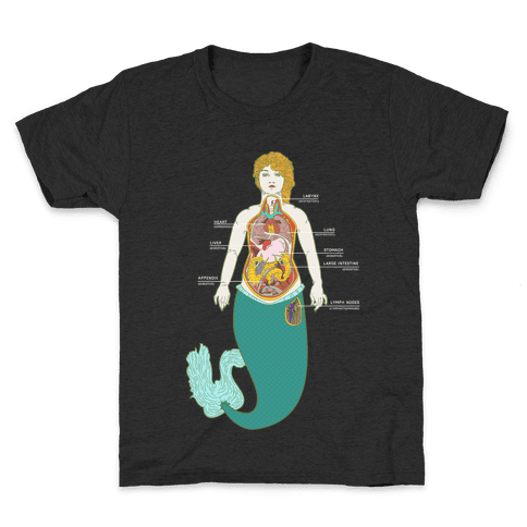 Mermaid Autopsy Kids T-Shirt
