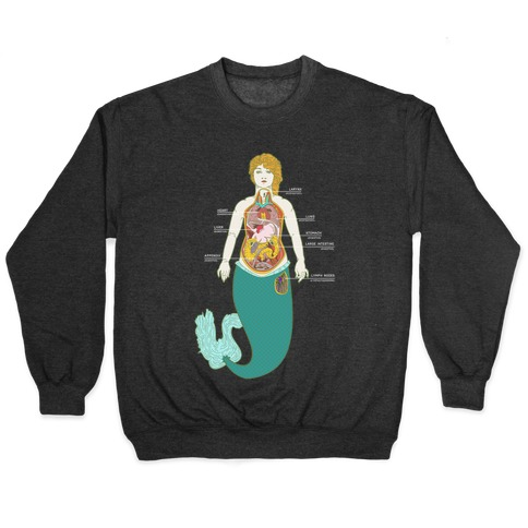 Mermaid Autopsy Pullover
