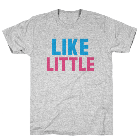 Like Big Like Little (Little) Mens T-Shirt