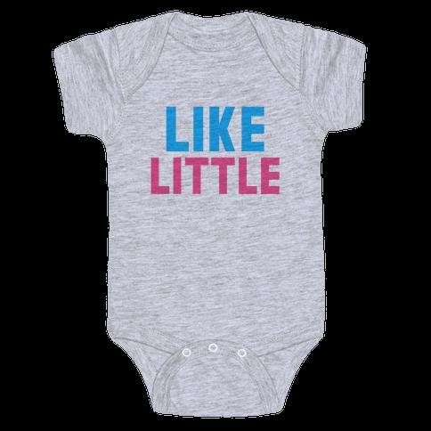 Like Big Like Little (Little) Baby Onesy