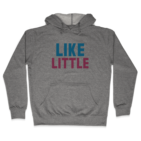 Like Big Like Little (Little) Hooded Sweatshirt